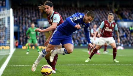 Prediksi Skor Liga Primer Chelsea vs Burnley 27 Agustus 2016